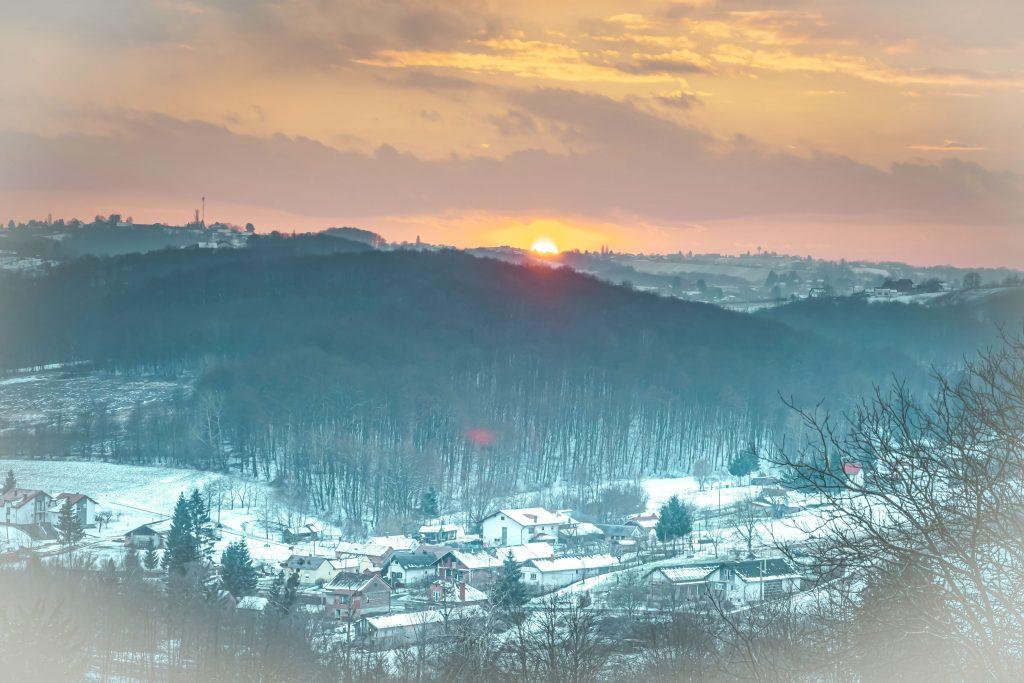 Picture 3 Medjimurje sunset by Anja Strelec
