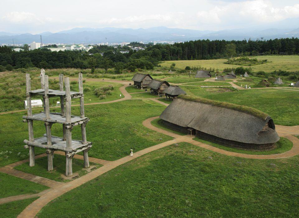 Sannai Maruyama Site © Sannai Maruyama Jomon Culture Center
